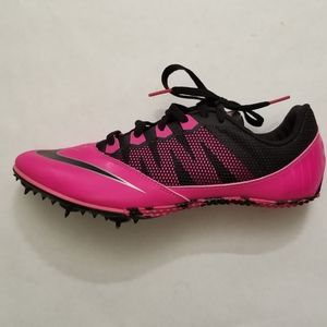 Nike Zoom Rival Track Spikes, Pink, Sz 9
